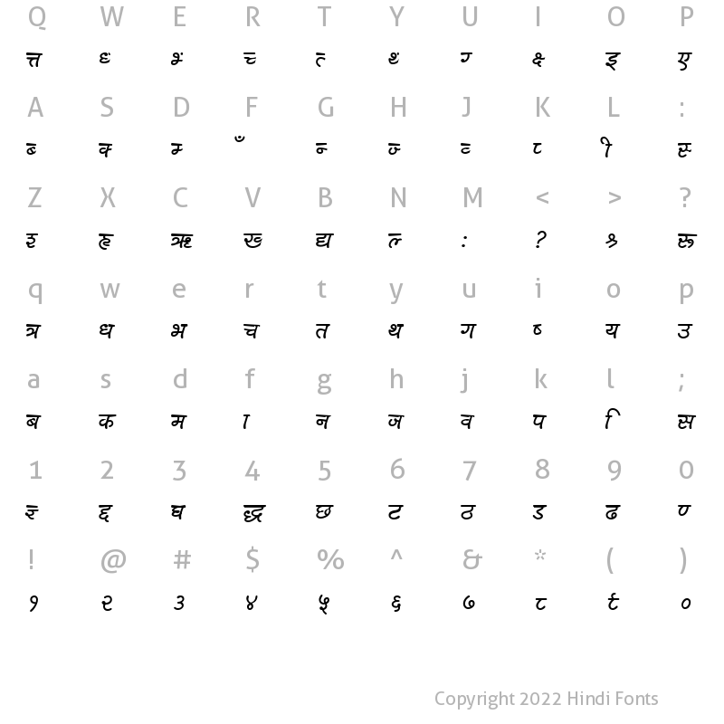 Character Map of HarkaMCCSSemiBold Semi Bold001.000